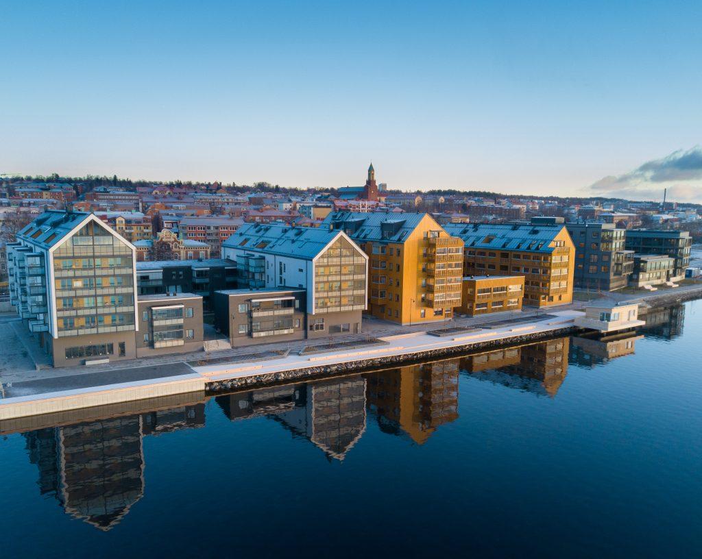 Vy över Storsjö strand - Foto Tobbe