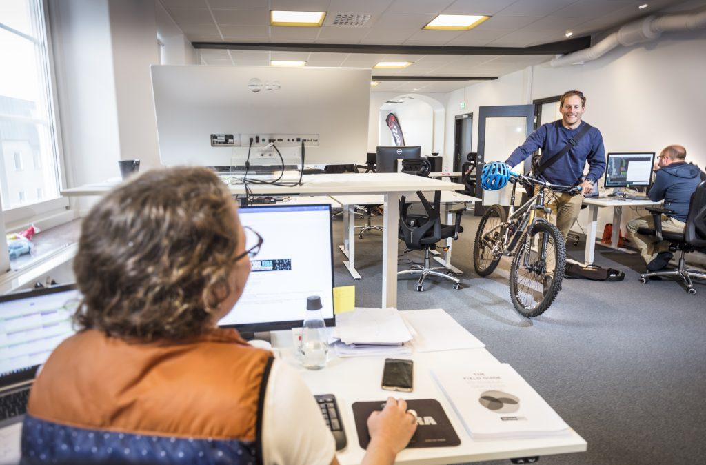 Bild som visar kontorsmiljö