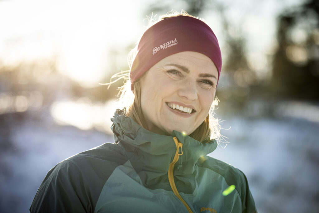 Person som tittar in i kameran i Åre. Foto: Susanne Kvarnlöf